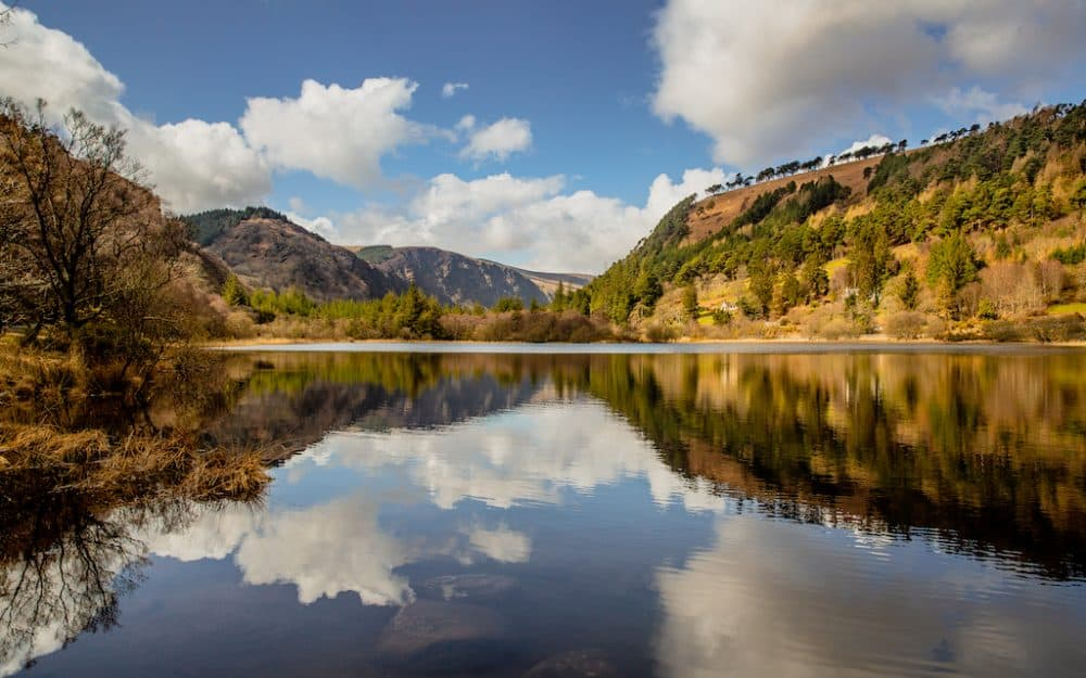 Glendalough - beautiful countryside in ireland