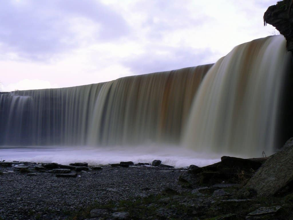 Jägala Falls, Estonia on GlobalGrasshopper.com