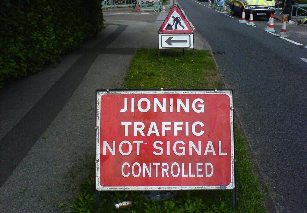 Jioning road sign on GlobalGrasshopper.com