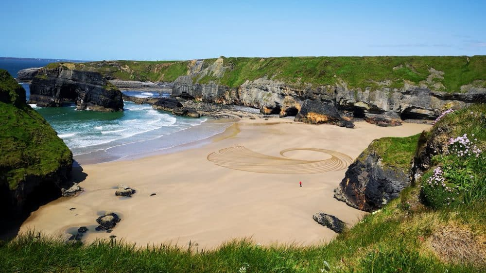 A gorgeous beach in Kerry County Ireland