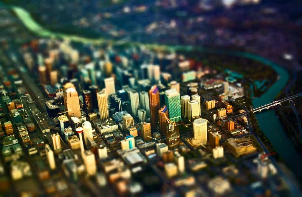 Calgary - tilt shift photography on GlobalGrasshopper.com