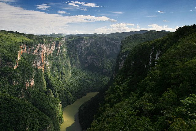 Canon del Sumidero, 10 of the most beautiful places to visit in Mexico on GlobalGrasshopper.com