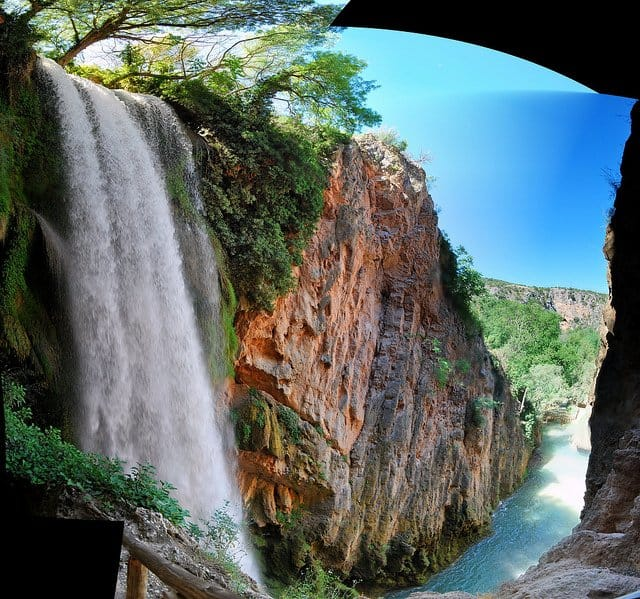 Horsetail falls, 10 of the most beautiful places to visit in Mexico on GlobalGrasshopper.com