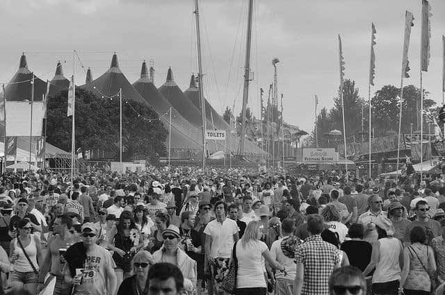 Isle of Wight - best European music festivals on GlobalGrasshopper.com