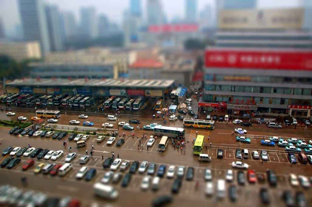 Jinan - tilt shift photography on GlobalGrasshopper.com