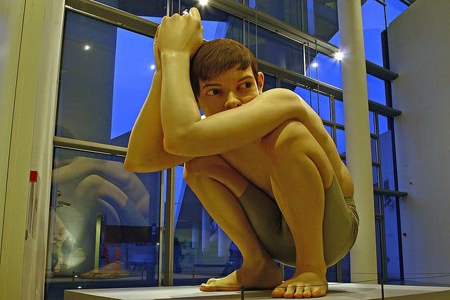 Top ten best European cities for travel snobs, Ron Mueck sculpture, Aarhus
