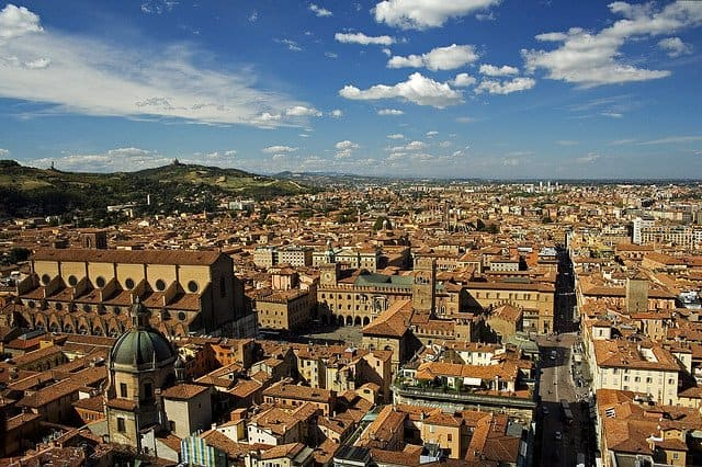 10 of the most beautiful places to visit in Italy, Bologna on GlobalGrasshopper.com
