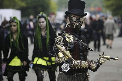 World's Weirdest Festivals: Gothic festival, Belgium on GlobalGrasshopper.com