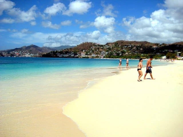 Top 10 best Caribbean beaches, Grenada, on GlobalGrasshopper.com