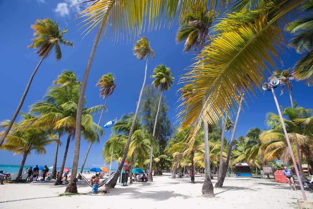 LUQUILLO BEACH, PUERTO RICO - best beaches in the Caribbean