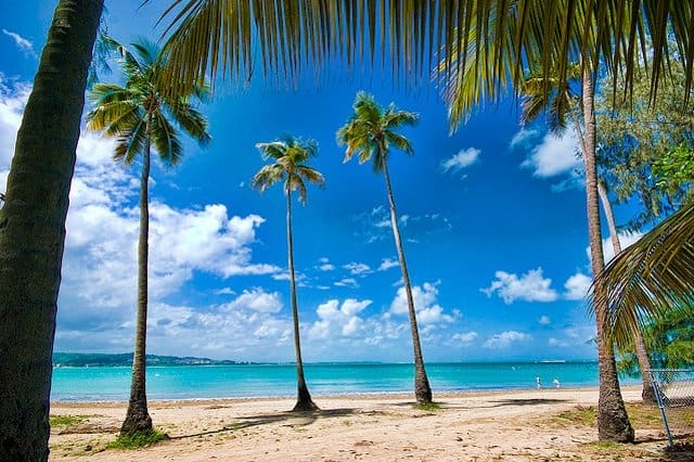 Top 10 best Caribbean beaches, Luquillo Beach, on GlobalGrasshopper.com