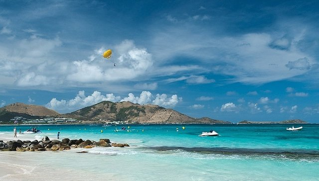 Top 10 best Caribbean beaches, Orient beach, on GlobalGrasshopper.com