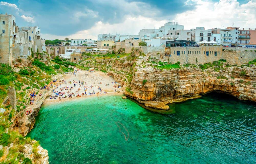 Puglia Italy - a beauty spot in Italy