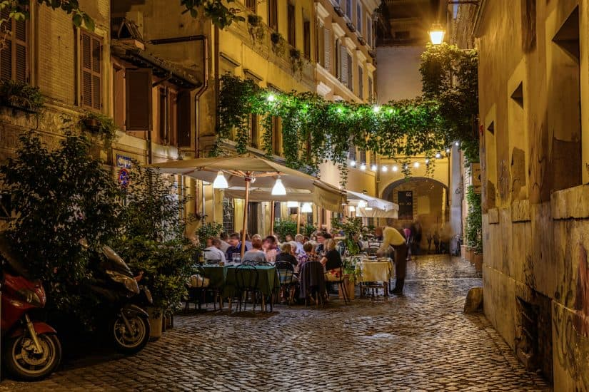 Top 10 best restaurants in Rome