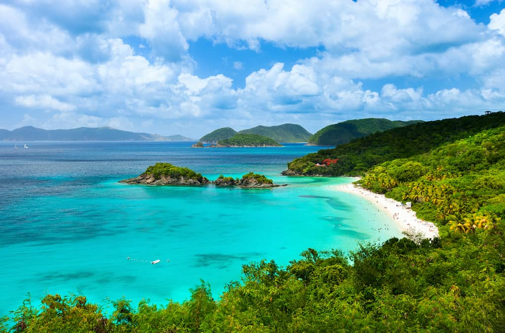 Trunk Bay in St. Johns