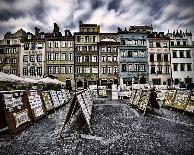 Top ten best European cities for travel snobs, Warsaw on GlobalGrasshopper.com