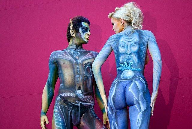 World's Weirdest Festivals: World Bodypainting Festival, Korea on GlobalGrasshopper.com