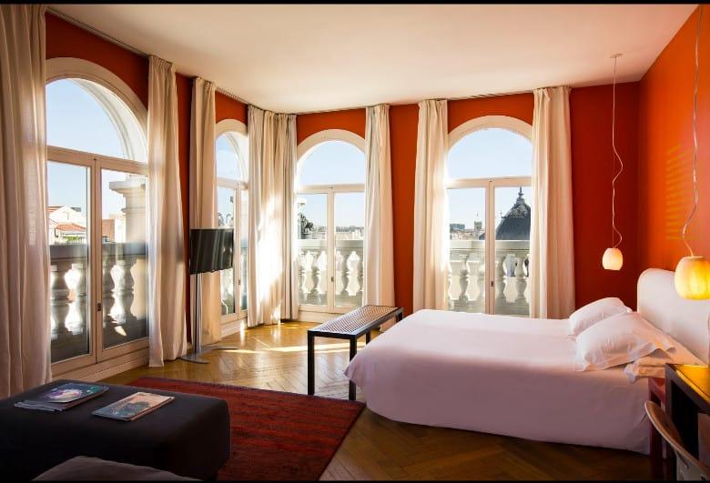Hotel De Las Letras - chic and unique Madrid boutique hotel