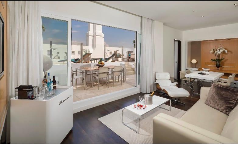 ME Madrid Reina Victoria - a beautiful modern Madrid hotel