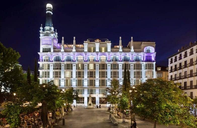 ME Madrid Reina Victoria - a beautiful Madrid hotel