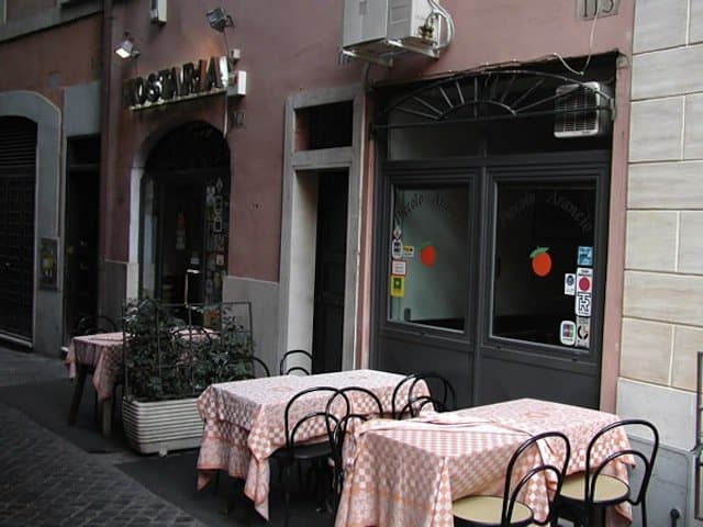 Piccolo Arancio, Top 10 Rome restaurants