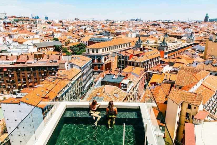 Top 12 cool and unusual hotels in Madrid