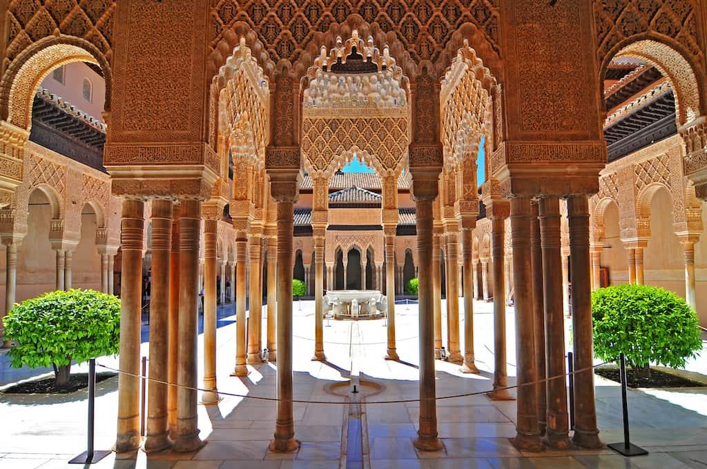 Granada - most beautiful cities in Spain
