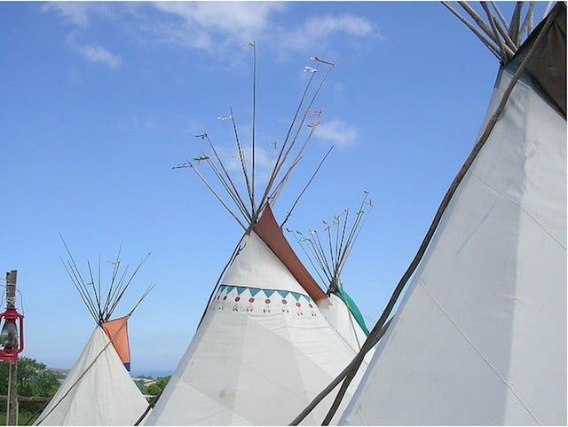 Hillfort Tipis, Pembrokeshire - Glamping destinations for travel snobs - GlobalGrasshopper.com