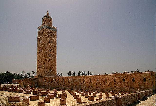 Koutoubia Mosque - Places to visit in Marrakech on GlobalGrasshopper.com