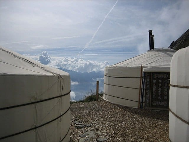 Mongolian Yurts, Vaud, Switzerland - Glamping destinations for travel snobs - GlobalGrasshopper.com
