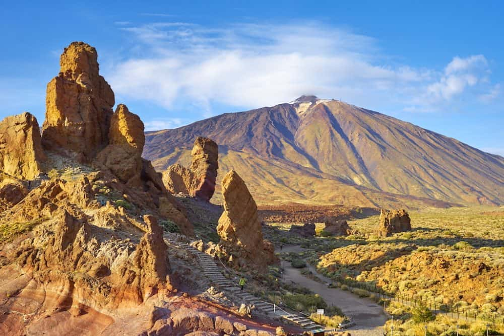 Mount Teide in Tenerife - popular attractions in Spain