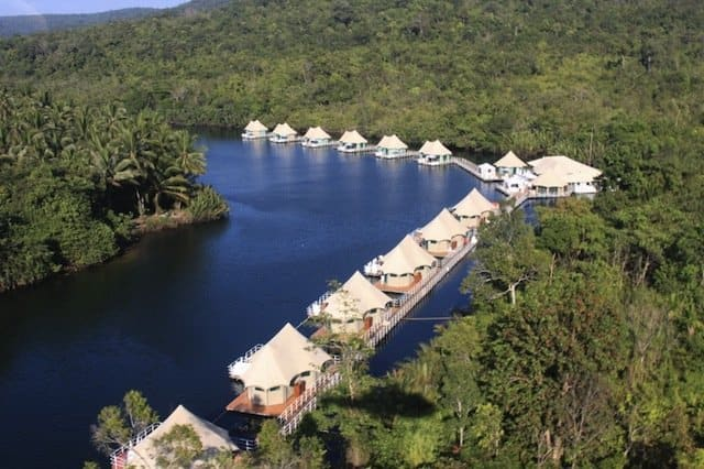 4 Rivers Floating Lodge Koh Tong - Glamping destinations for travel snobs - GlobalGrasshopper.com