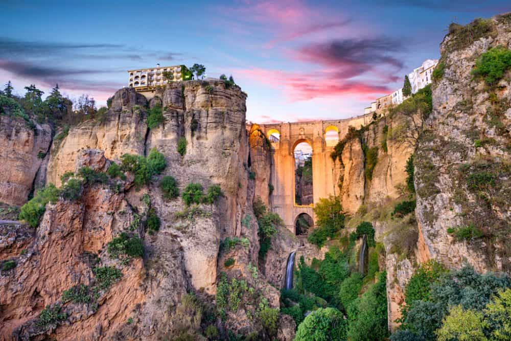 Ronda - the most beautiful cities in Spain