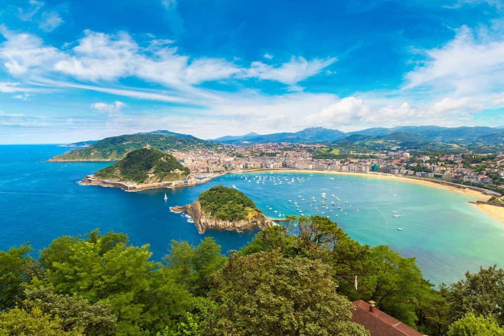 San Sebastian - stunning city to visit in Spain