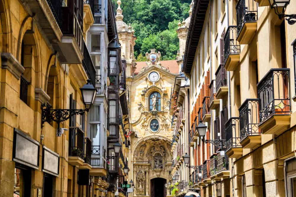 San Sebastian in Spain - travel blog