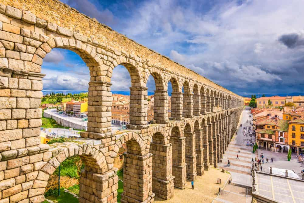 Segovia city in Spain