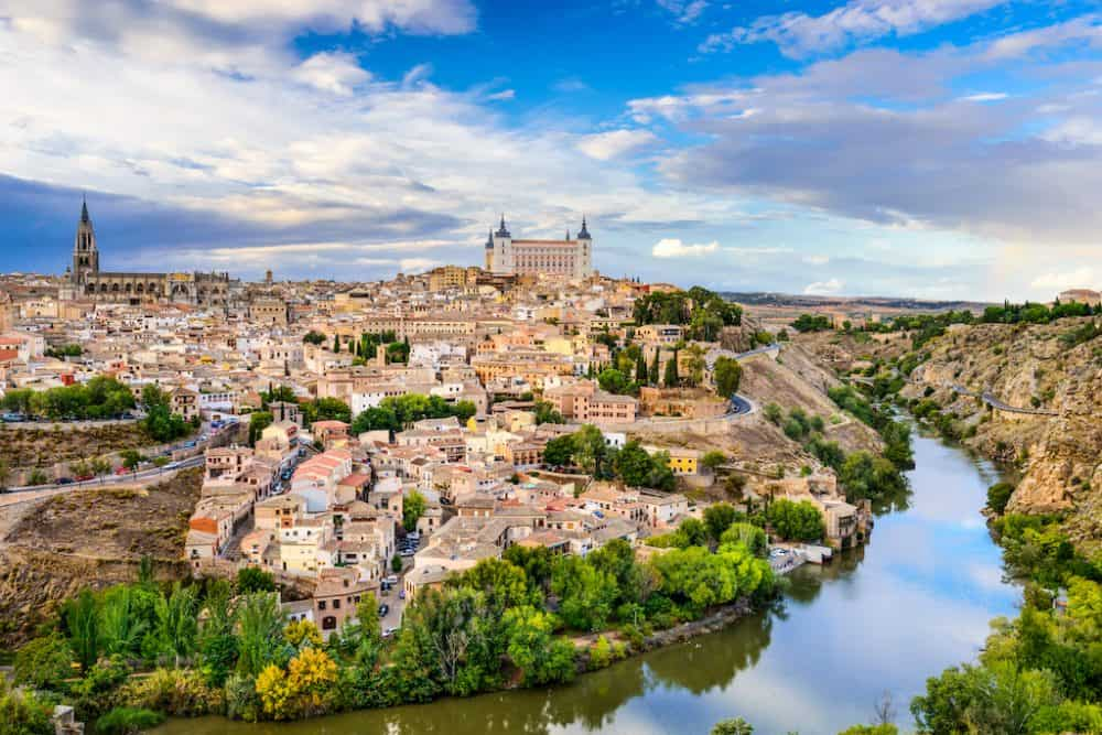 Toledo - a pretty historic city in Spain