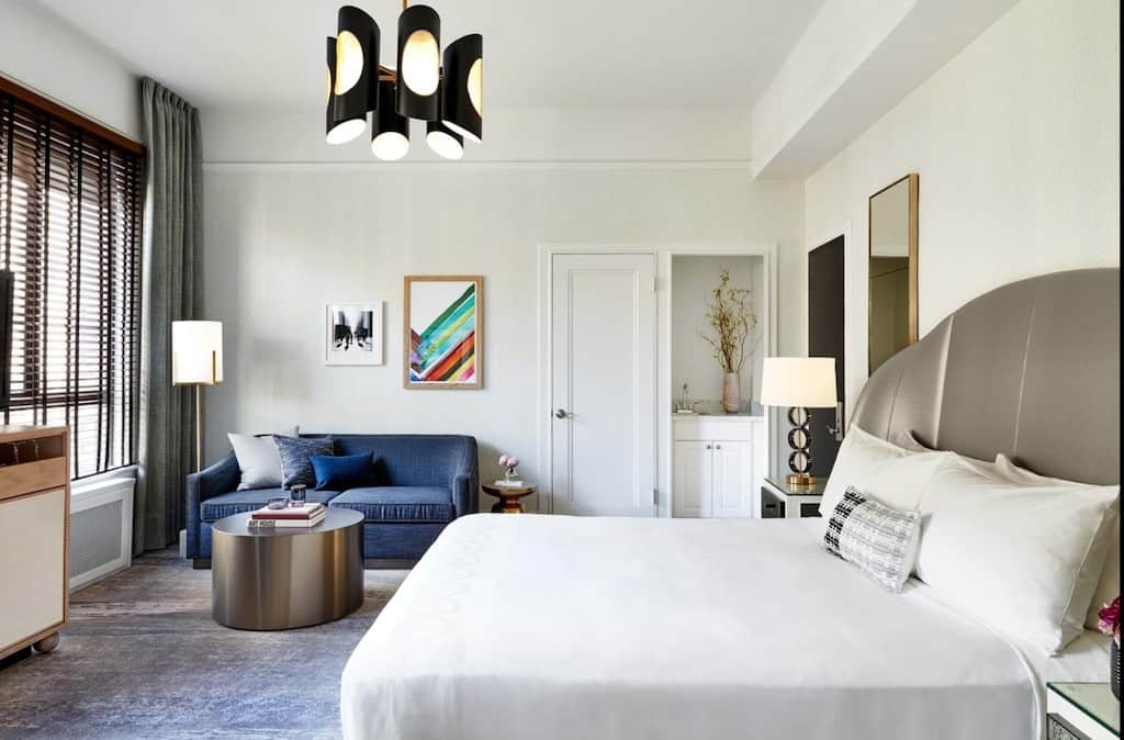 A chic boutique hotel in San Francisco