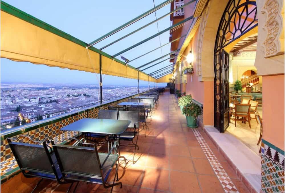 A cool hotel in Granada Spain