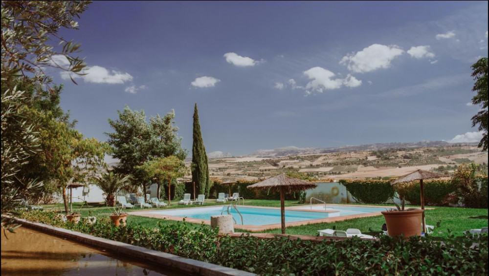 A cool hotel in Ronda Spain