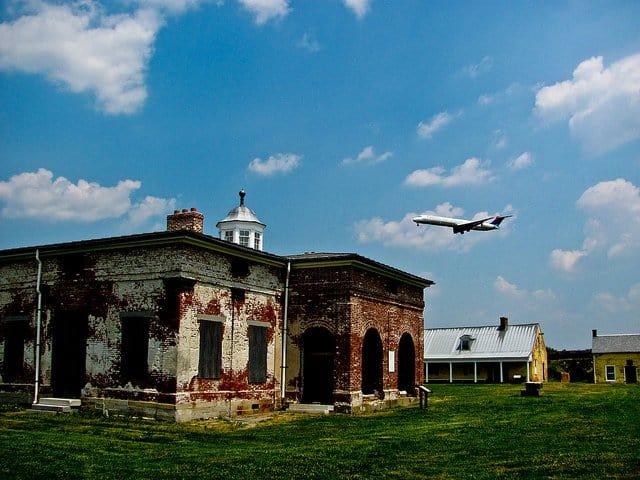 Fort Mifflin Spooky Places USA on GlobalGrasshopper.com