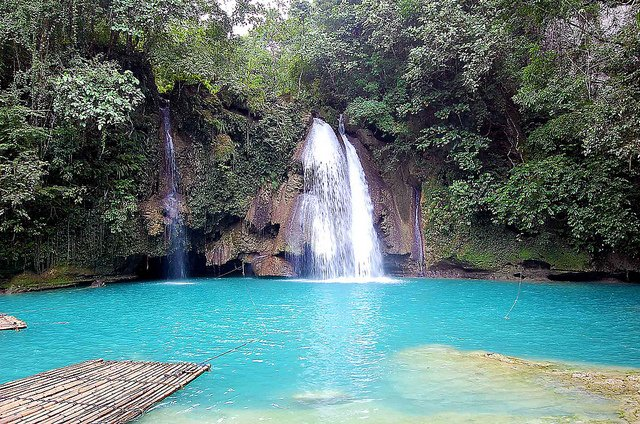 Kawasan Falls, Cebu, Philippines on GlobalGrasshopper.com