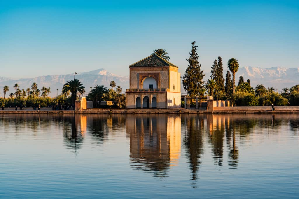 Menara Gardens - the most beautiful places to visit in Marrakech