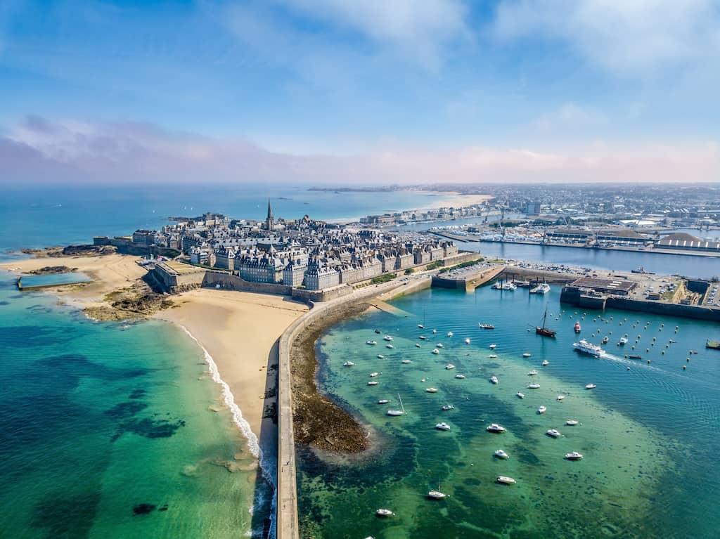 Saint Malo in France