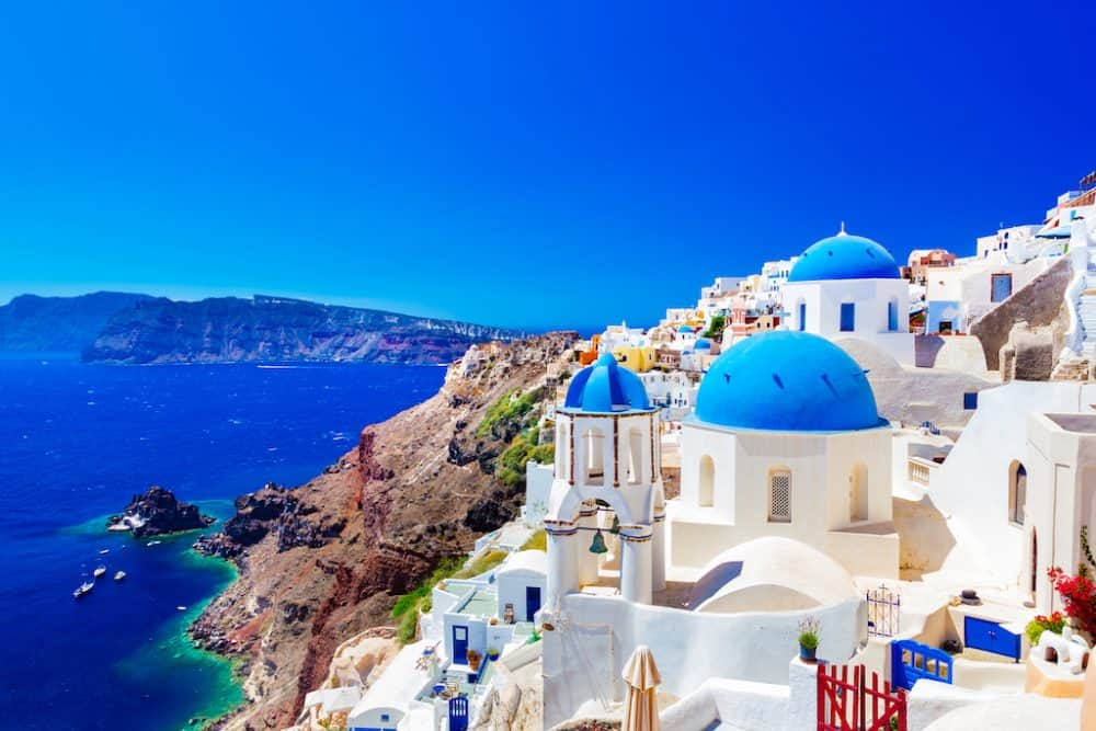 Santorini island - most beautiful places to visit in Greece