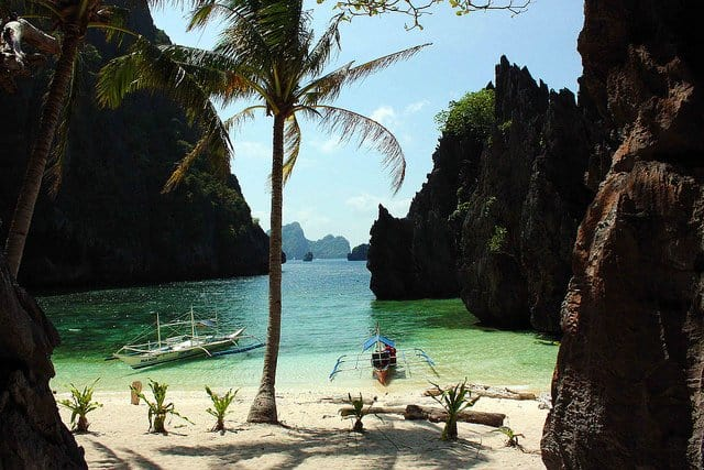 Secret Lagoon, El Nido, Philippines on GlobalGrasshopper.com