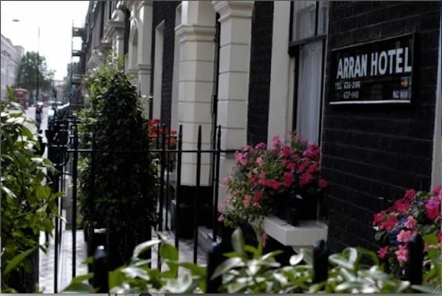 Arran House Hotel - best budget hotel in London on GlobalGrasshopper.com