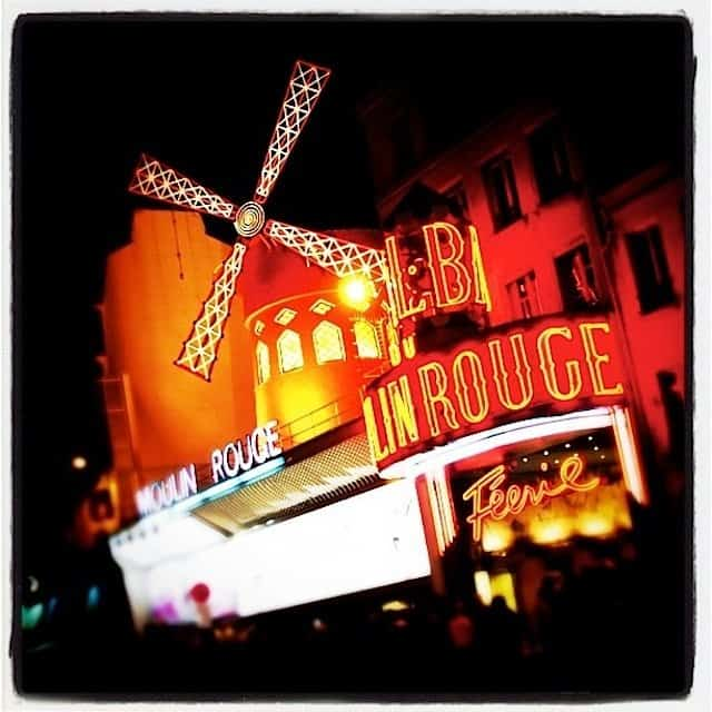 Moulin-Rouge - spending a week in Paris on GlobalGrasshopper.com