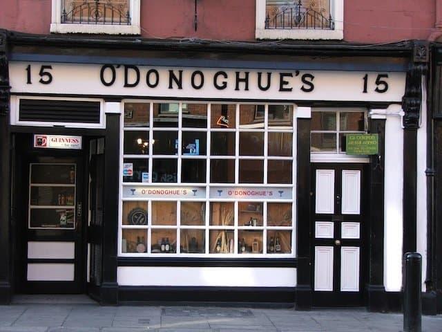 ODonoghue-pub-Dublin - best pubs in Dublin on GlobalGrasshopper.com