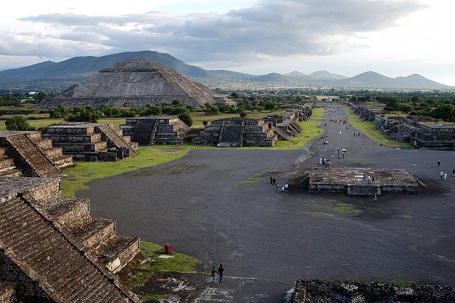 Teotihuacan, lost cities on GlobalGrasshopper.com